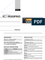 UHFCB IC-400PRO Instruction Manual