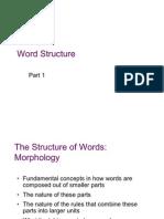 Lect. 4a Wordstructur 2-2