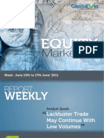 Equity Reports for the Week (13th - 17th June '11)