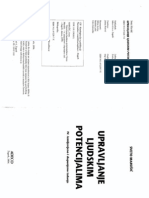 Upravljanje ljudskim potencijalima; Marušić, 2006.
