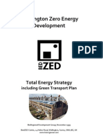 Bed Zed Total Energy Strategy Jan 2000