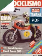 Motociclismo Num 774 Octubre de 1982