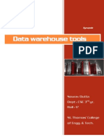 Datawarehouse tools
