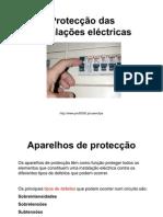 Proteco Das Instalaes Elctricas