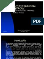 Inyeccion Directa de Gasolina Bosch Motronic MED7