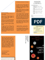 Summer Quest Brochure