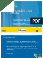 BP401 -- Admin Zero to Hero