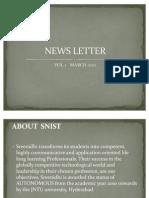 Newsletter Ppt