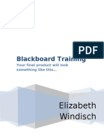 Blackboard Training Model