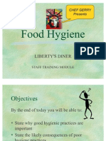 LIBERTY's Basic Food Hygiene Ppt