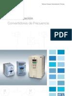 WEG Cfw 09 Convert Id Ores de Frecuencia 1033 Catalogo Espanol