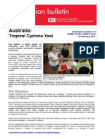 Cyclone Yasi - Information Bulletin