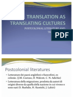 Translation as Translating Cultures Monica Valcavi