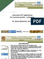 CODIST I ICT Innovation ICT Applications m Banking Batchelor En