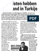 Islamisten overhand in Turkije