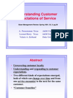 Customerexpectations&Services