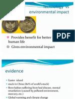 Technology vs Enviromental Impact