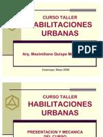Copia de Curso Taller Habilitaciones Urbanas Huancayo