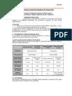 ion Cardiopulmonar en Pediatria