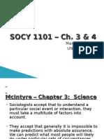 Socy1101 Ch 3-4