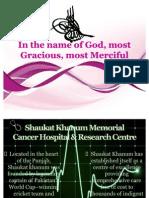 Shaukat Khanum Memorial Cancer Hospital & Research Centre