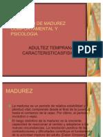 Concepto de Madurez Comport a Mental y Psicologia