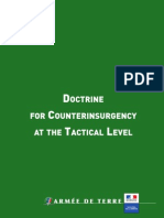 Doctrine for Counterinsurgency at the Tactical Level