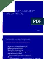 Arrhythmias After Cardiac Surgery