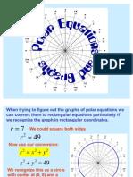 Polar Equations and Graphs