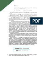 CONCEPTO DE EDUCACION E INSTITUCIÓN ESCOLAR.-