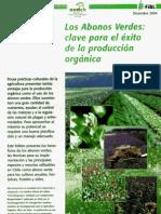 Abonos Verdes - Clave en La Produccion Agricola 2004