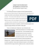 Army Brigade Combat Team Modernization Versatile Capabilities for an Uncertain Future