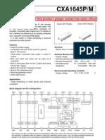 Cxa1645 Tv Encoder