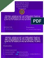 Efectos Adversos de Los Esteroides Topicos