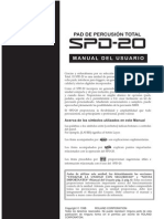 manual en español SPD-20