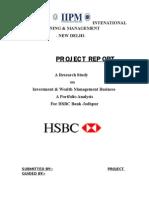 18020786 Hsbc Project Report