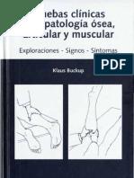 BUCKUP - Pruebas Clinicas Para Patologia Osea Articular y Muscular