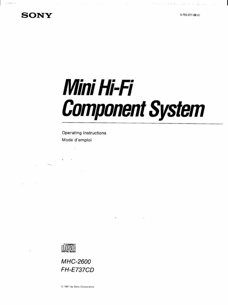 MHC-2600