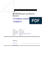BP010 Business and Process Strategy