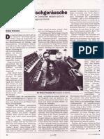 Visionäre Wischgeräusche (Elektronik-Musikszene Wien 1993) (profil)