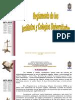 Reglamento de los Institutos y Colegios Universitario