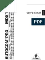 Autocom MDX1400
