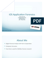 CEIC 2011 - iOS Application Forensics