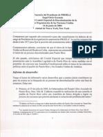 Ponencia ante el Comité Especial de Descolonización de la O.N.U., 14 de junio de 2004
