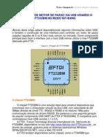 Controle de Motor de Passo via Usb Usando o Ft232bm No Modo Bit