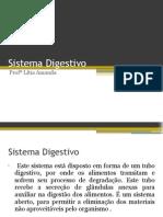 Anatomia do Sistema Digestivo