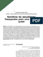 REF Narrativas Da Sexualidade