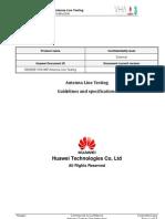 Huawei Antenna System Test Instruction V0 0