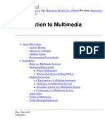 Introduction to Multimedia communications
