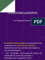 Psicopatologia psiquiátrica  1